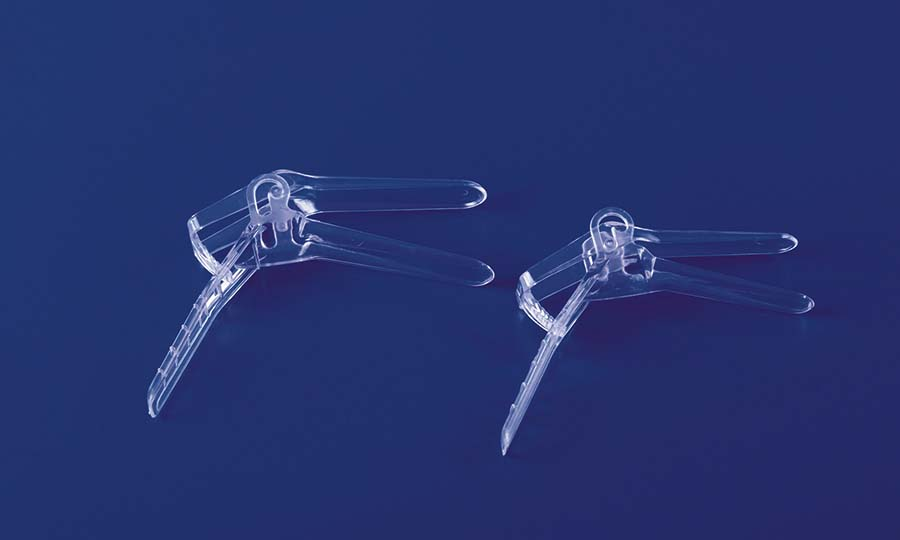 Two-parts Disposable Vaginal Speculum